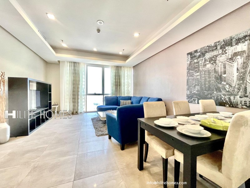 Three bedroom Furnished apartment for rent in Salmiya