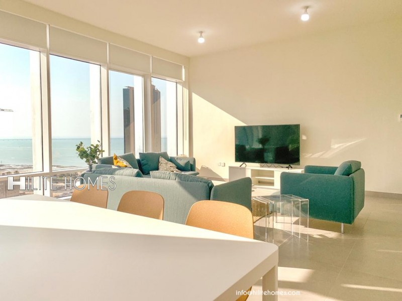 Three Bedroom Apartment for Rent in Sharq Kuwait City