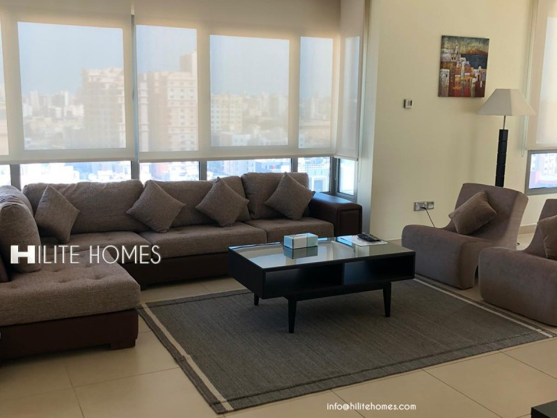 Furnished One Bedroom Apartment in Salmiya