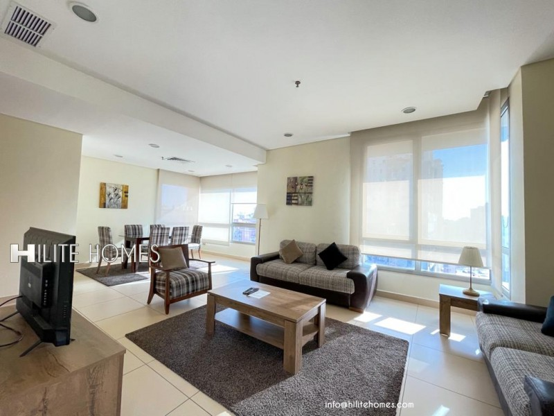 Two bedroom furnished apartment in Salmiya