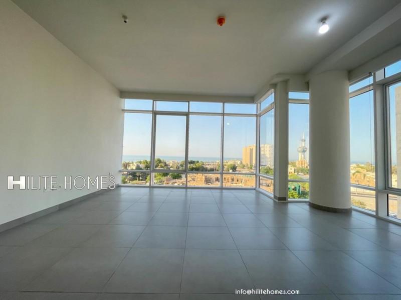 Semi furnished two & three bedroom apartment in Sharq