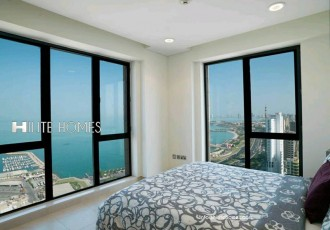 Two bedroom furnished apartment, with sea view , Bneid Al Qar