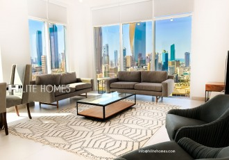 Modern two bedroom apartment for rent in Bneid al qar