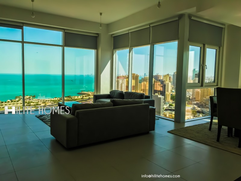 Furnished Three Bedroom Apartment for Rent,Near Kuwait City