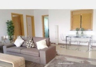 Two bedroom sea front apartment in Salmiya