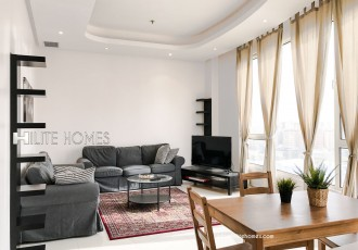 Furnished two bedroom apartment for rent in Salmiya