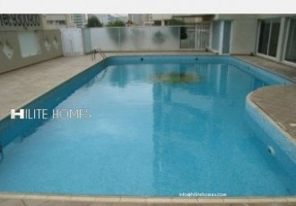 Spacious sea view duplex apartment for rent in Salmiya
