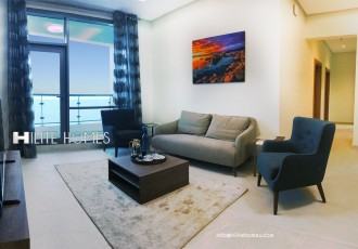 Two bedroom sea view apartment for rent in SAlmiya, close to marina beach