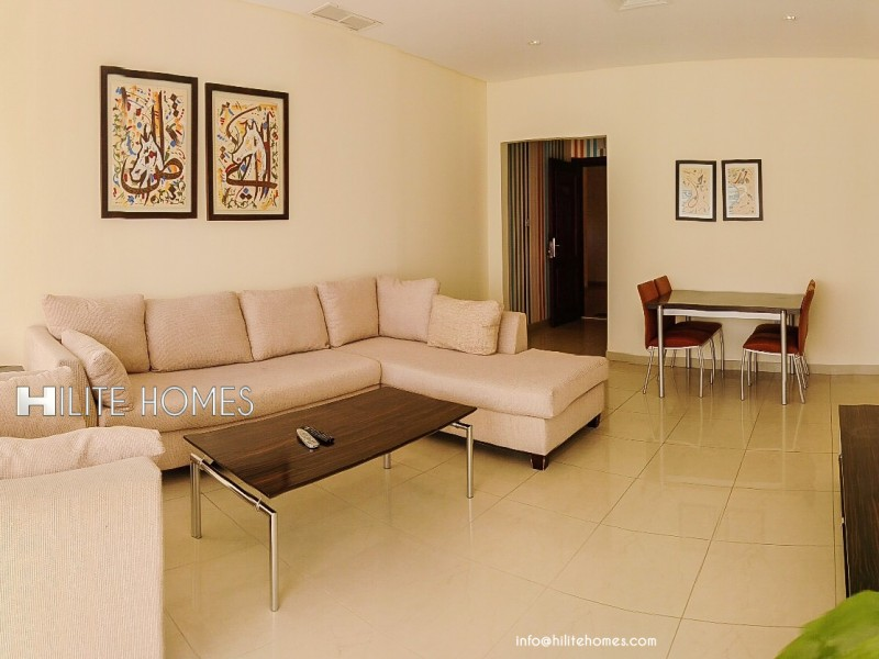 Brand new one bedroom apartment for rent close to marina beach, Salmiya