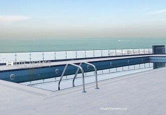 three bedroom sea view apartment for rent in SAlmiya