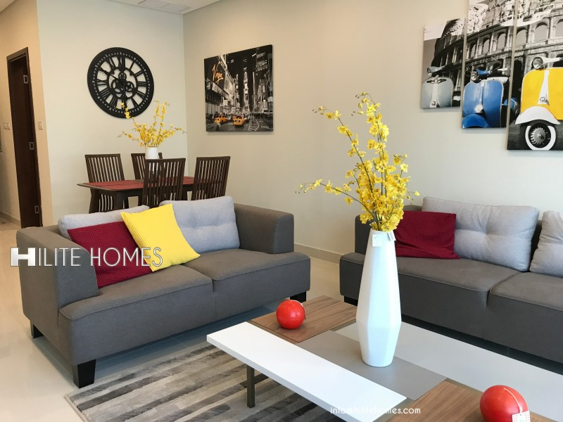 Fully furnished Two Bedroom  Apartment For Rent,Close to Kuwait City