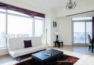 Modern sea view 3 bedroom apartment for rent in Salmiya
