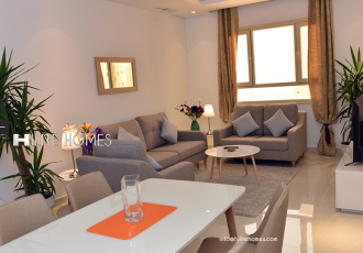 2 Spacious Bedrooms Fully furnished apartment Mahboula