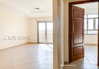 Spacious two bedroom semi furnished apartment now available for rent in Shaab, with balcony and a nice view 1 Master