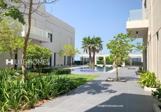 Semi Furnished Beach Villa for Rent in Fintas