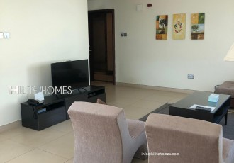furnished one bed apartment for rent in Salmiya (2)