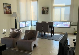 furnished one bed apartment for rent in Salmiya (3)