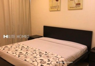 furnished one bed apartment for rent in Salmiya (7)