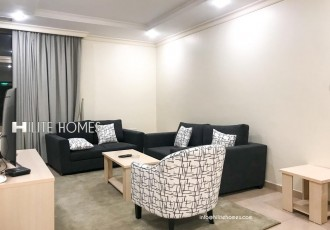 Two bedrooms fully furnished sea view apartment in Salmiya