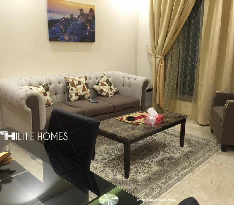 Furnished One bedroom apartment , Sharq-Kuwait