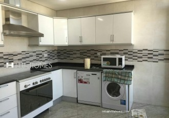 Three bedroom semi furnished apartment shaab