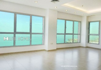 Sea view apartment for rent salmiya